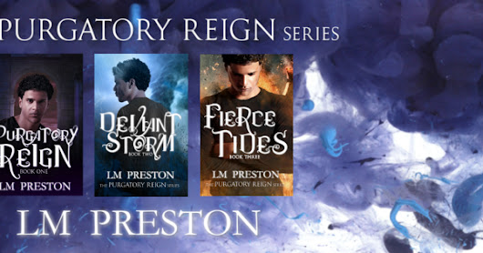 Fierce Tides by LM Preston COVER REVEAL & Tour