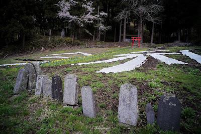 遠野 風景 綾織三社神社