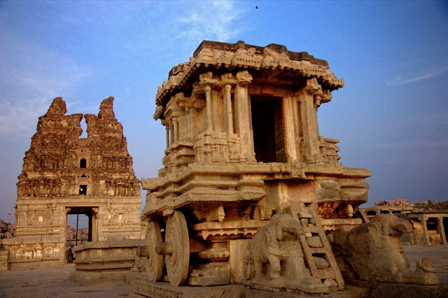 Hampi itinerary - the Stone Chariot