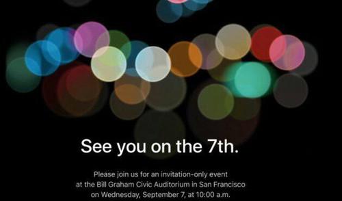 Resmi! Apple Sebar Undangan Peluncuran iPhone 7