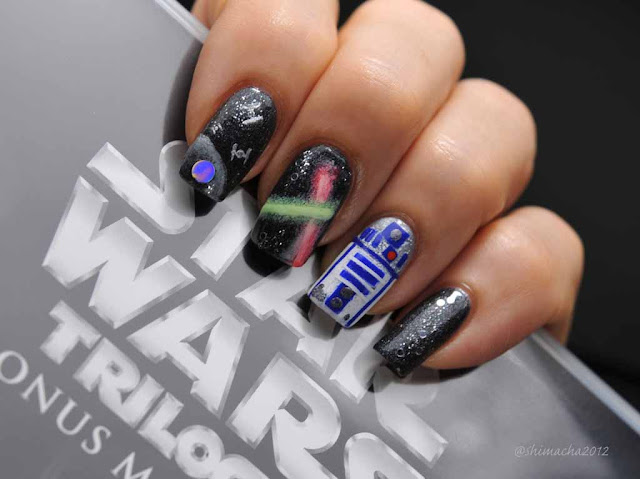 Star Wars Nails (May The Force Be With You)