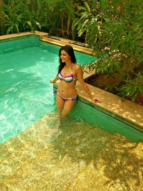 Aahana Kumra Sizzling Sexy Bikini Photoshoot