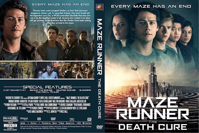 Maze Runner The Death Cure DVD Cover