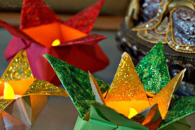 Origami Lotuses