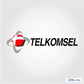 Telkomsel Logo Vector cdr Download