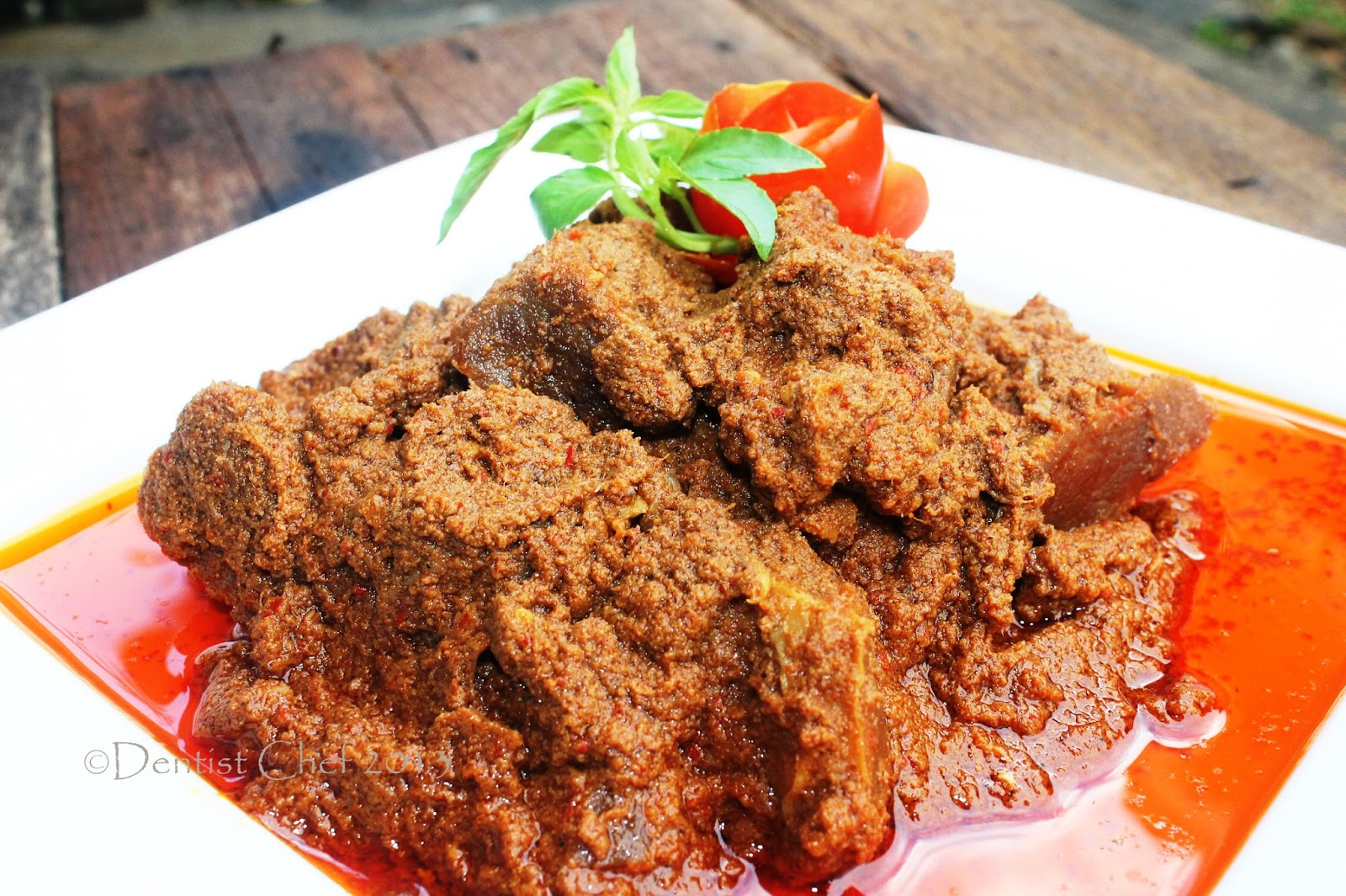 resep rendang daging enak  empuk jurnal media indonesia Resepi Rendang Sate Daging Enak dan Mudah