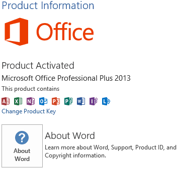 ms office 2013 editions