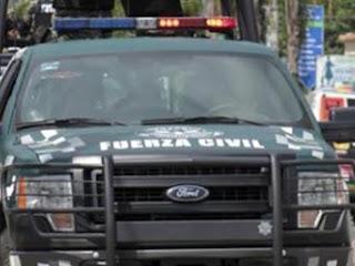Enfrentamiento armado entre Fuerza Civil y hombres armados en carretera México-Tuxpan