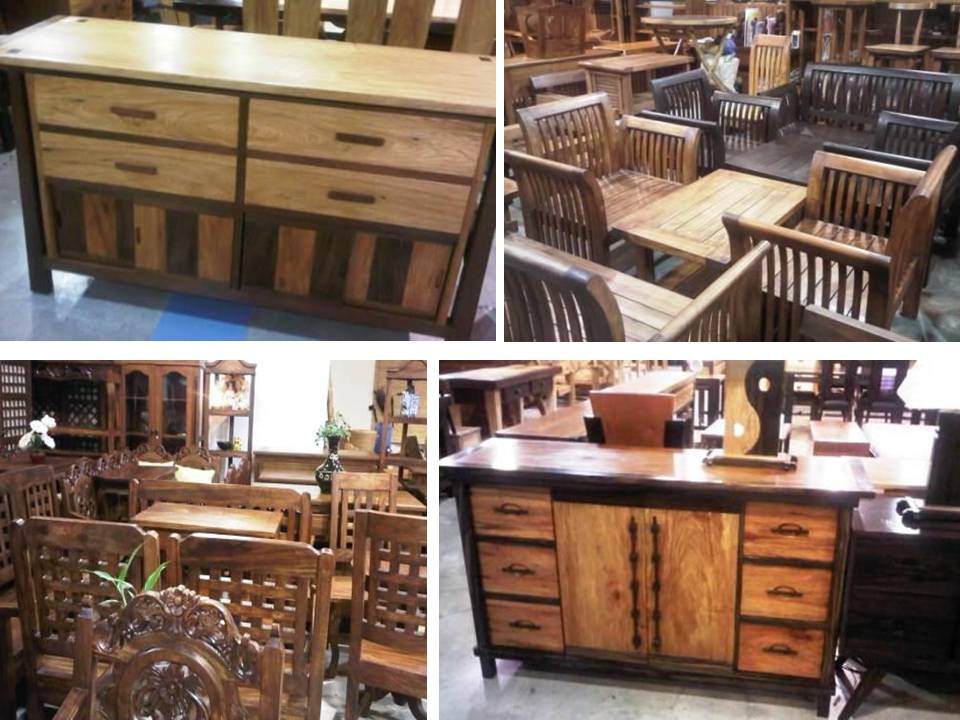 Merveilleux Market! Has The Widest Array Of Furniture Made Of Solid Wood...from  Mahogany, Acacia, Kamagong, Narra, Molave To Gmelina (White Teak) And  Santol.