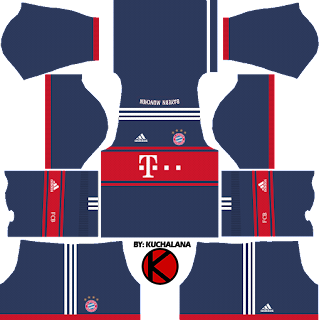 Bayern Munich 2017/2018 - Dream League Soccer Kits