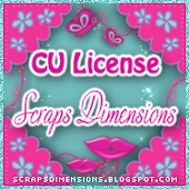 CU license - Scraps Dimensions