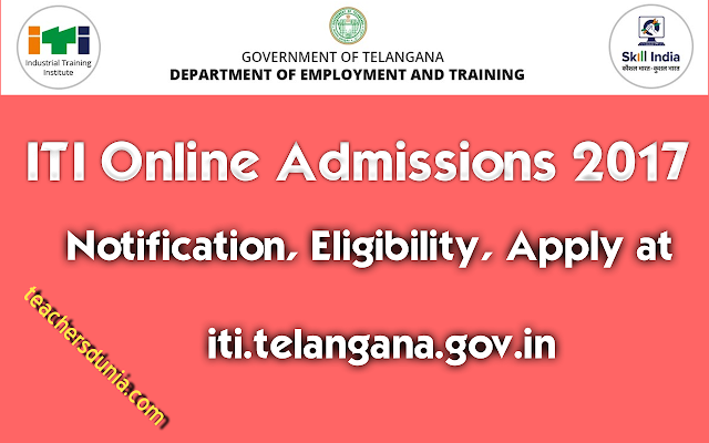 Telangana-ITI-Notification-2017