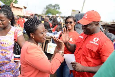 Photos : Vodafone Launches 'Ekiki Mi' Promotion