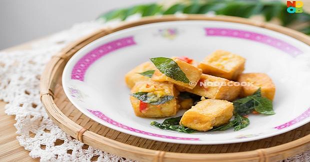 Salted Egg Yolk Tofu Recipe