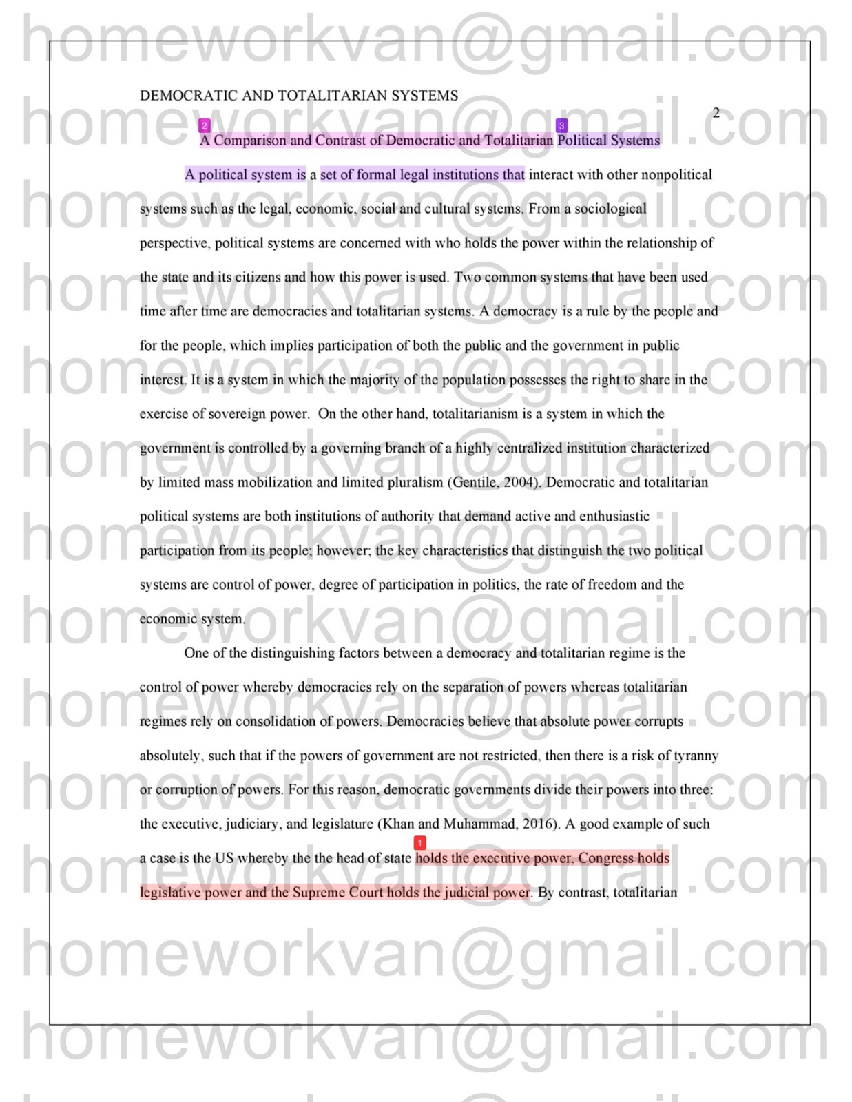 Homeworkvan Official Blog A Comparison Of Democratic And  The Following Is Plagiarism Report For A Comparison Of Democratic And  Totalitarian Political Systems  Compare And Contrast Essay Sample By  Homeworkvan