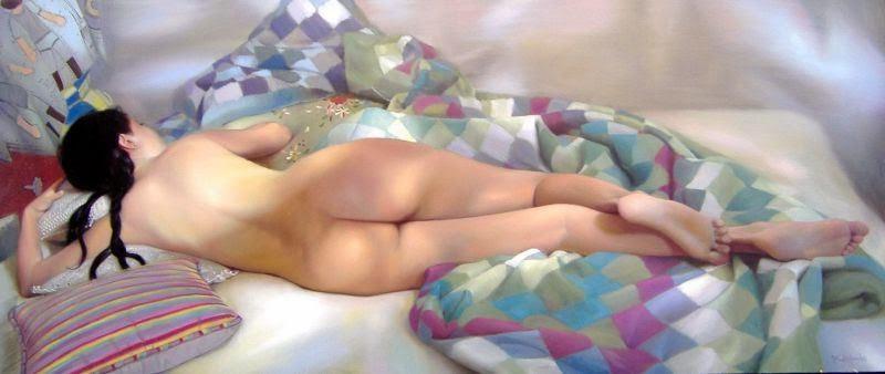 Doces Sonhos - Pinturas sensuais de Andrei Belichenko