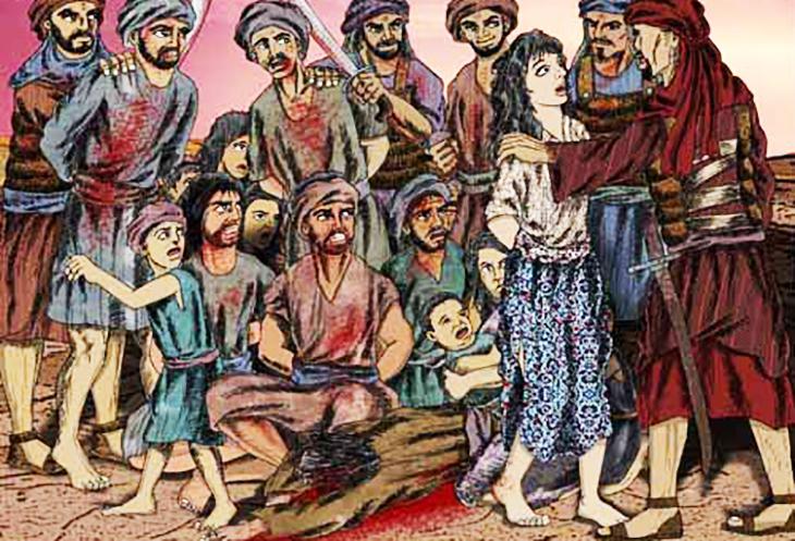 AY, din, islamiyet, Muhammed'in cinayetleri, Hz Muhammed'in öldürttüğü, 5 çocuklu Esma'nın öldürülmesi, Muhammed'in kadın şairi öldürtmesi, Muhammed'in öfkelendiği şiir, Ümeyr b. Adî,