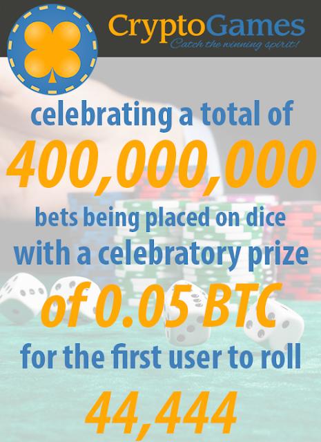 400 million bets