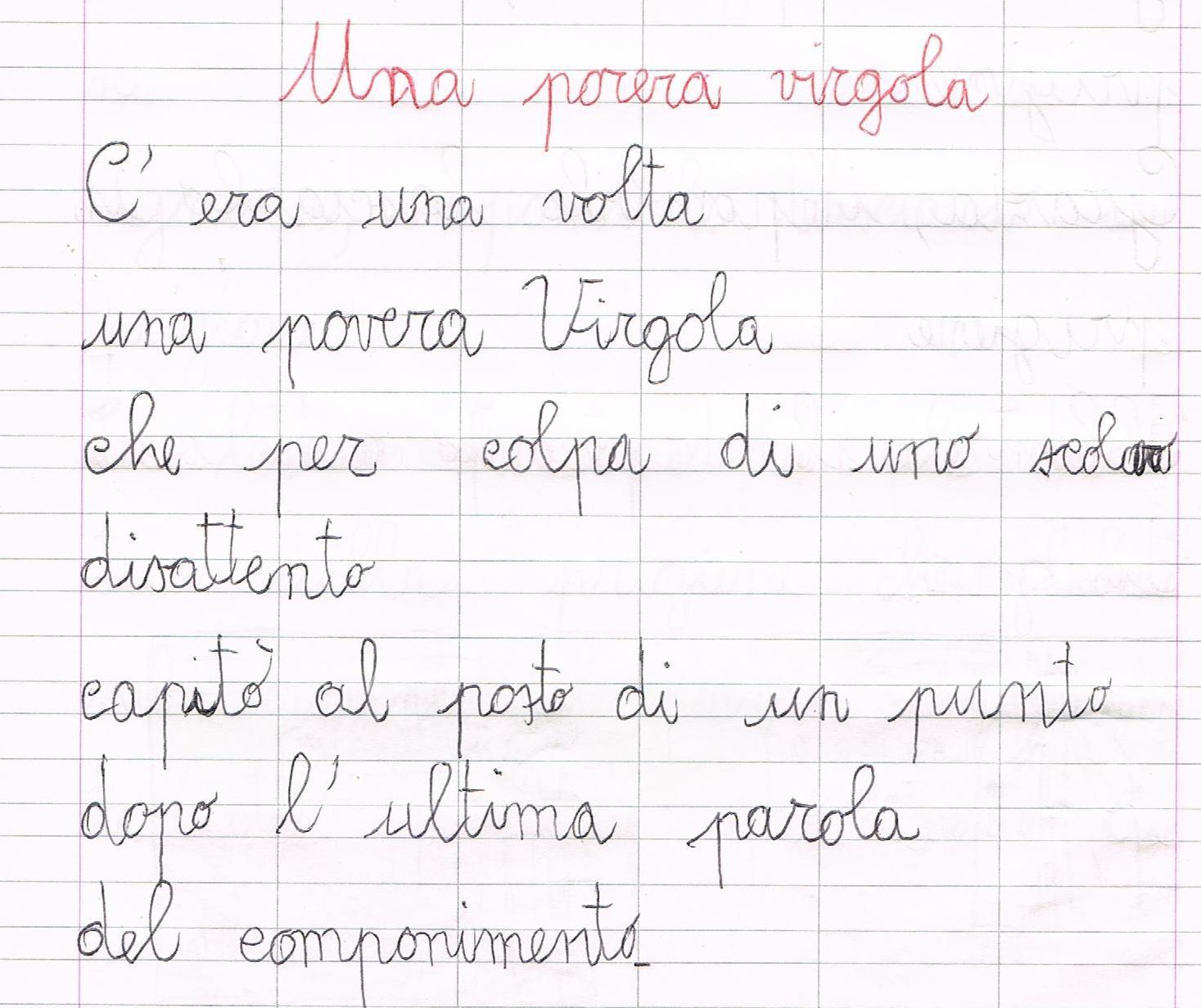 """abbastanza Una povera virgola"""" di Gianni Rodari ID83"""