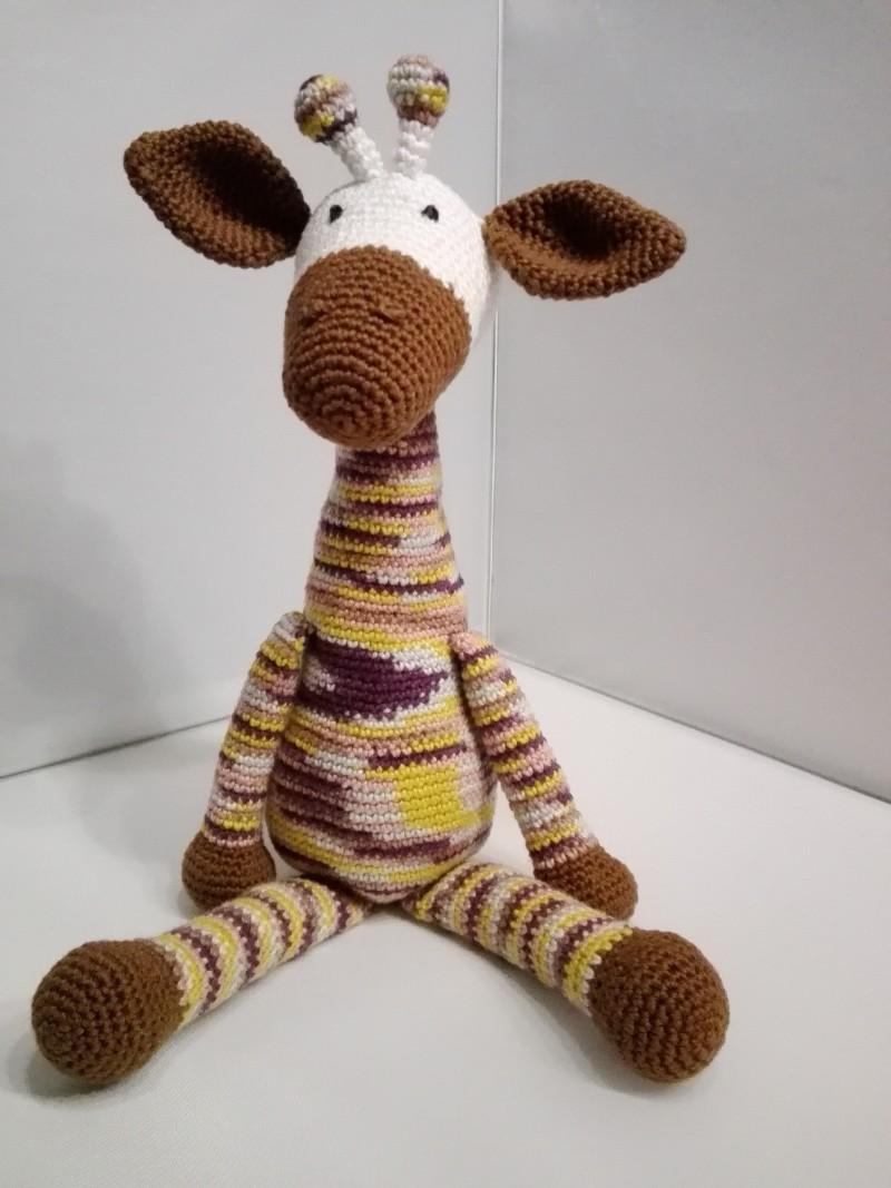 Heyleuk Giraf Knuffel Haken