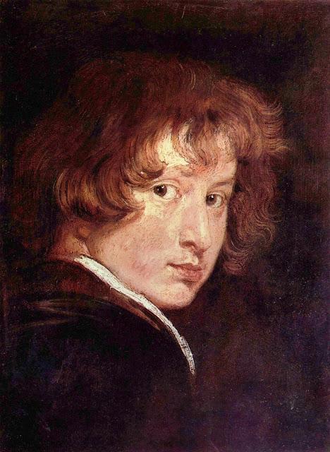 Van Dyck, Autorretrato, 1613/14