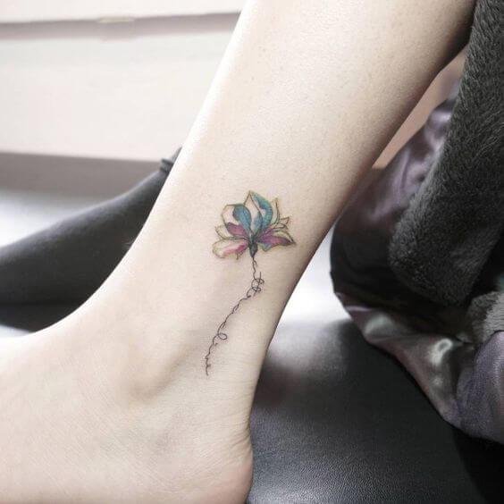tattoo small gun