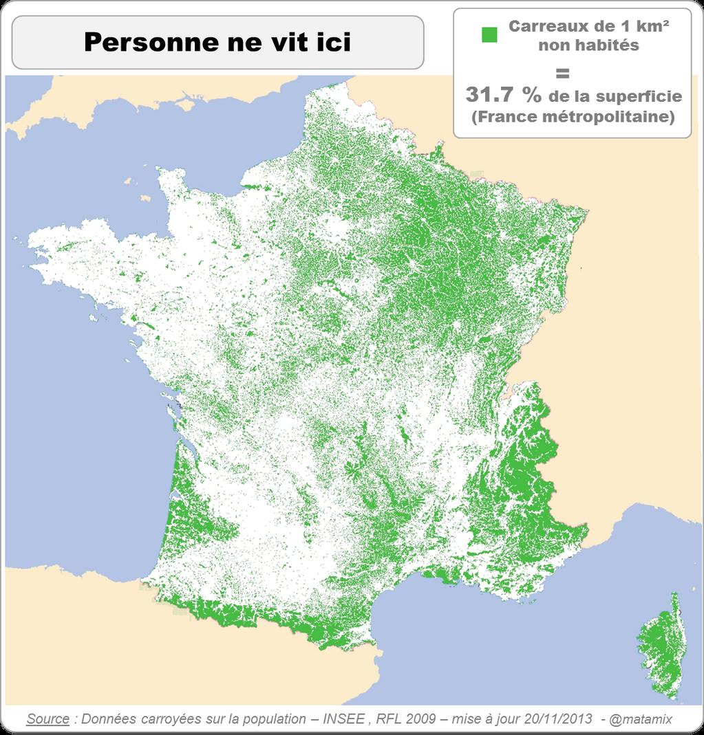 France: Nobody lives here