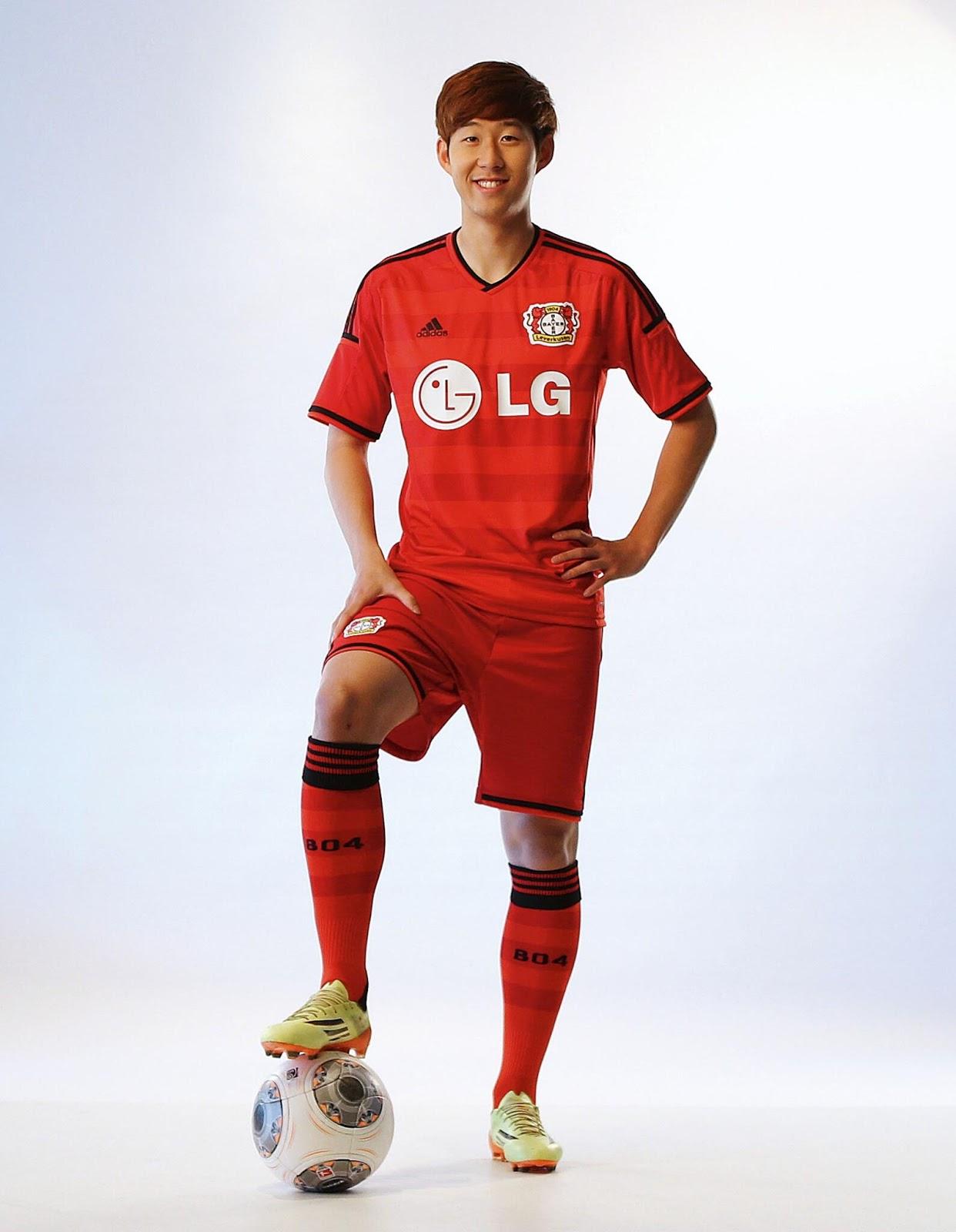 Bayer Leverkusen 14-15 Home Kit Released