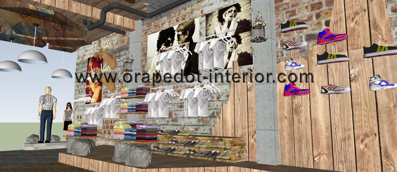 My Draftdistro Orapedot Interior