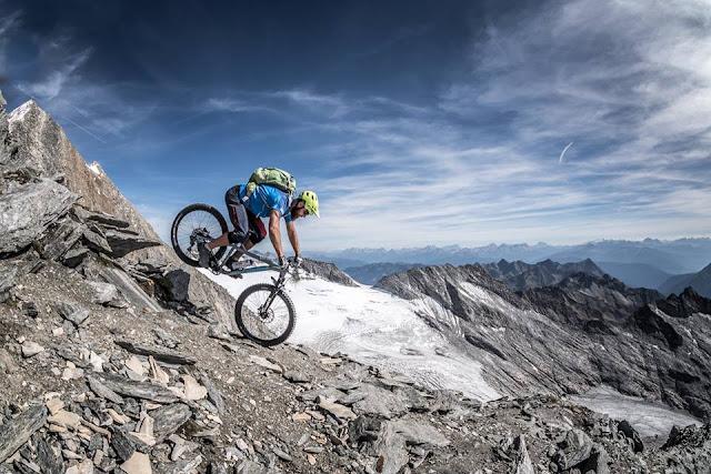 Mountainbike Tour Sterzing Hochfeiler Hochfeilerhütte