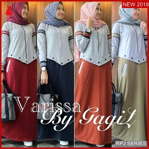 RPJ238D213 Model Dress Varissa Cantik Maxy Wanita