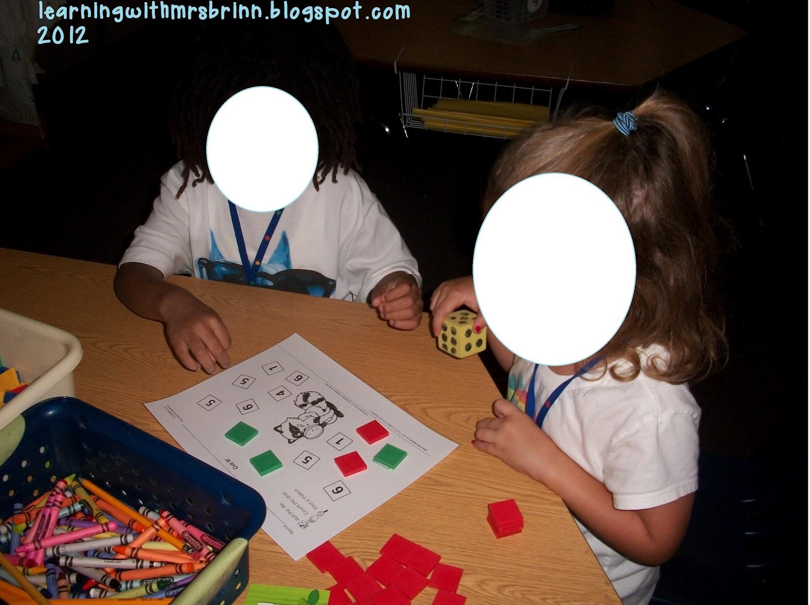 Kissing Hand Math Centers