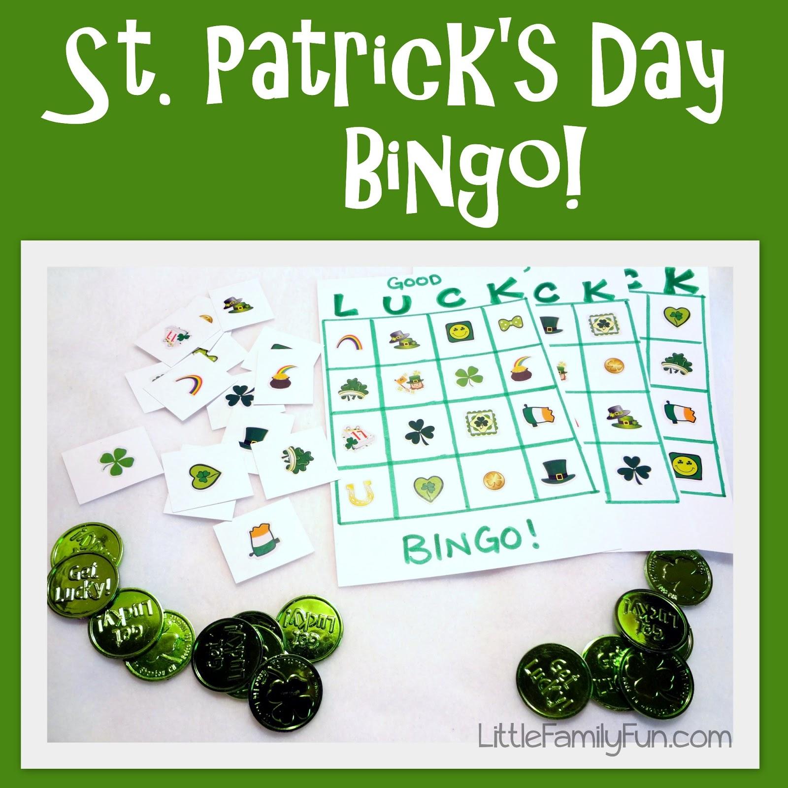 Little Family Fun Good Luck Bingo