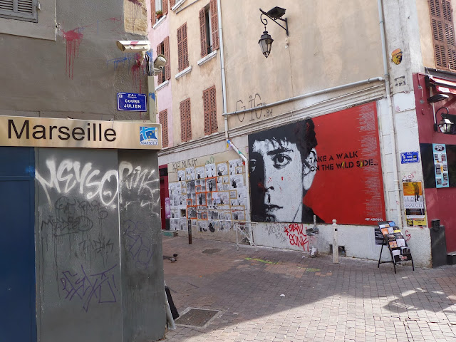 Tribute To Lou Reed Mural By French Street Artist Jef Aerosol In Marseille, France. 4