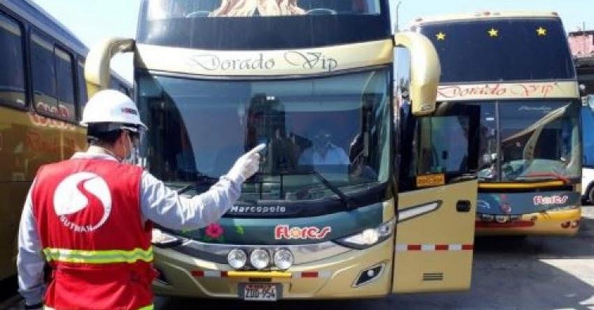 Autoridades presentan plan para brindar seguridad a pasajeros de Transporte Interprovincial