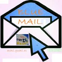Blue Mail icono.