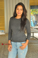 Actress Bhanu Tripathri Pos in Ripped Jeans at Iddari Madhya 18 Movie Pressmeet  0061.JPG
