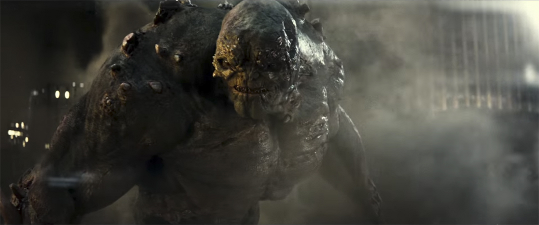 Doomsday in Batman v Superman: Dawn of Justice