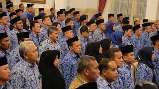 Pembukaan Rakernas Korpri digelar di Istana Negara. Foto: detikcom
