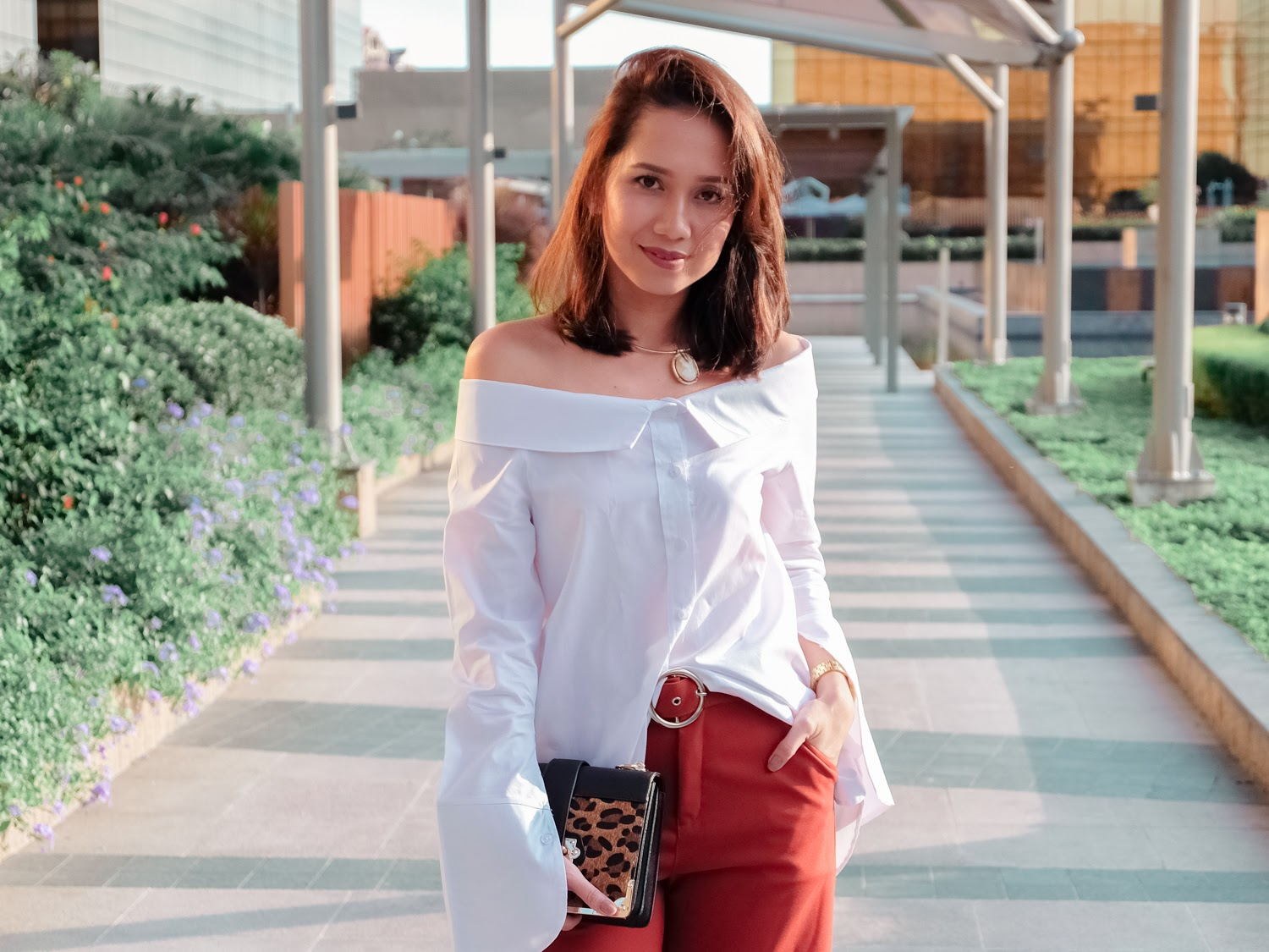 Warm In Terra Cotta Perfumed Red Shoes Cebu Fashion Beauty And Lifestyle Blog By Toni Pino Oca