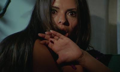 Soledad Miranda dans SIE TOTETE IN EKSTASE aka CRIMES DANS L'EXTASE film érotique horreur de Jess Franco
