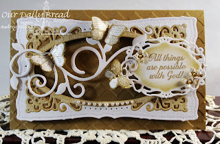 Stamps - Ornate Borders Sentiments, ODBD Custom Fancy Foliage Die