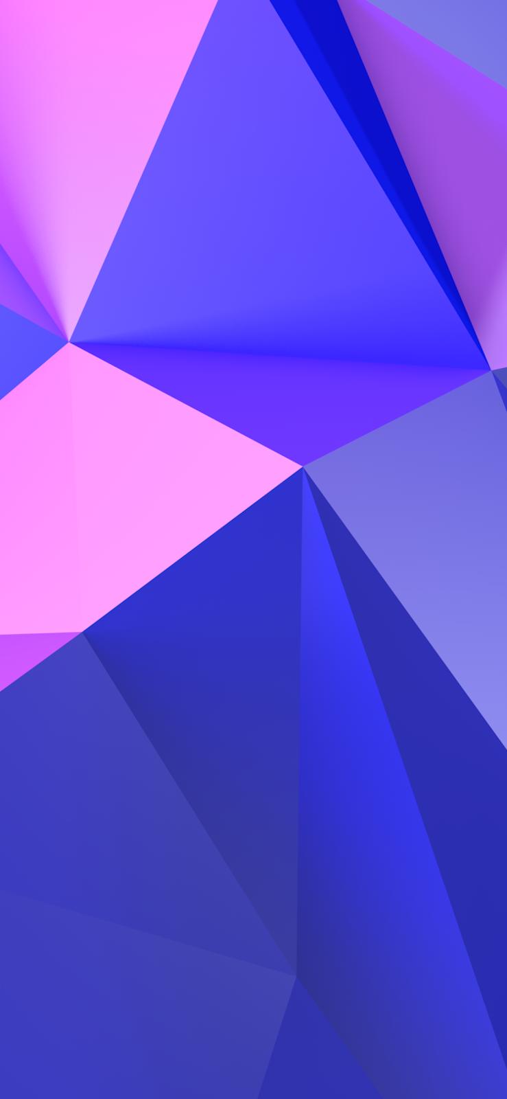 iPhone X 高解析度幾何幻想桌布下載 | 愛瘋日報