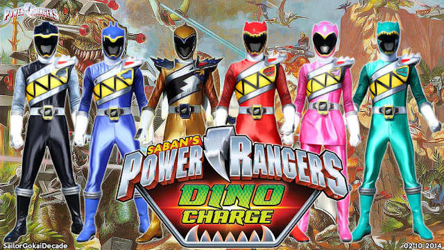 Power Rangers Dino Charge Batch Sub Indonesia