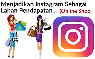 Cara mendapatkan uang tambahan dari Instagram