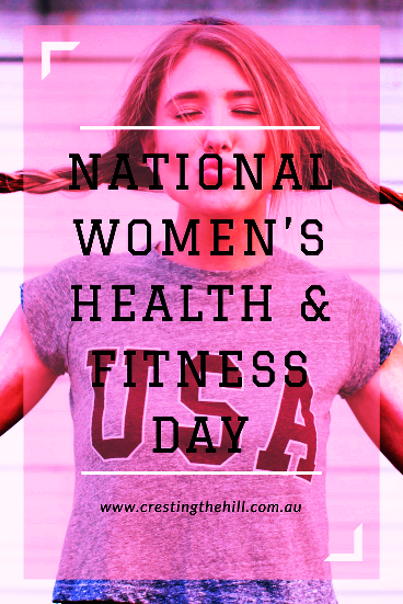 National Women's Health & Fitness Day - Fit is not a destination, it is a way of life. (Photo by Brooke Cagle on Unsplash)