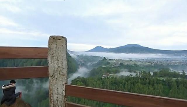 Tebing keraton taman hutan raya juanda