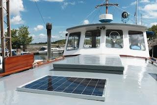 zonnepaneel boot