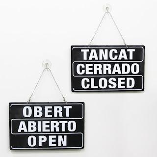español, catalán, ingles abierto carrado