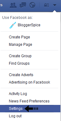 facebook profile settings